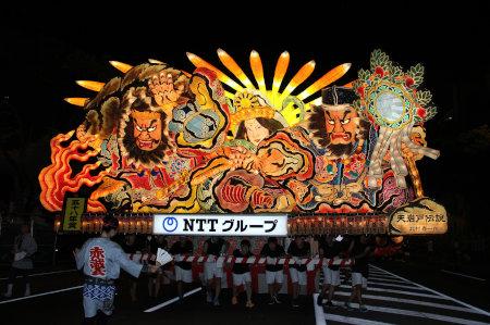 NTTグループねぶた - 青森ねぶた...